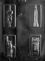New York Theme Box Set Chocolate Mold