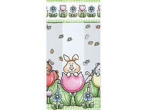 4x2x9.5 Bags - Bunny in Egg - 10 Bags