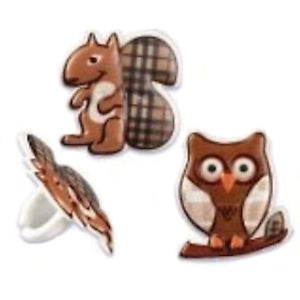 Forest Animals Rings