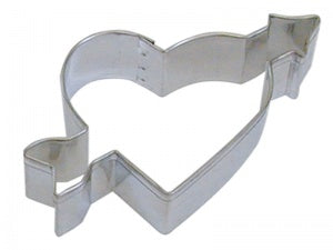 "4"" Heart And Arrow Cookie Cutter"