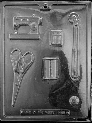 Sewing Kit Chocolate Mold