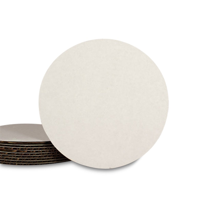 "Mini Cardboard Cake Pads -3.5"" Round - 5 pieces"