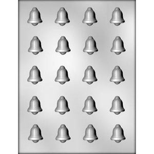 bite size bells chocolate mold
