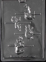 Carousel Wild Animals Chocolate Mold