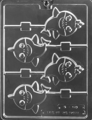 Baby Sharks Lolly chocolate mold