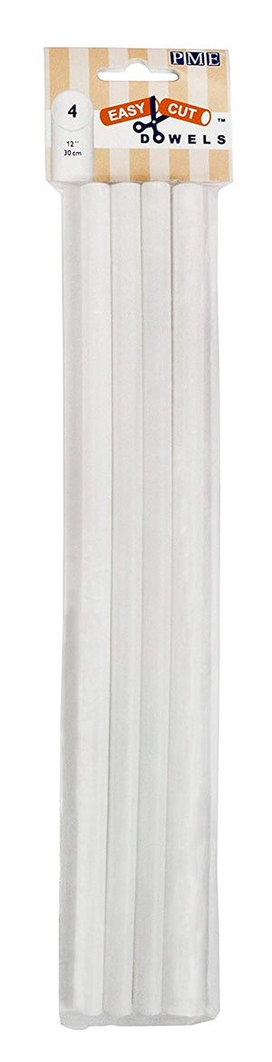 "Easy Cut Dowels - 12"" - White"