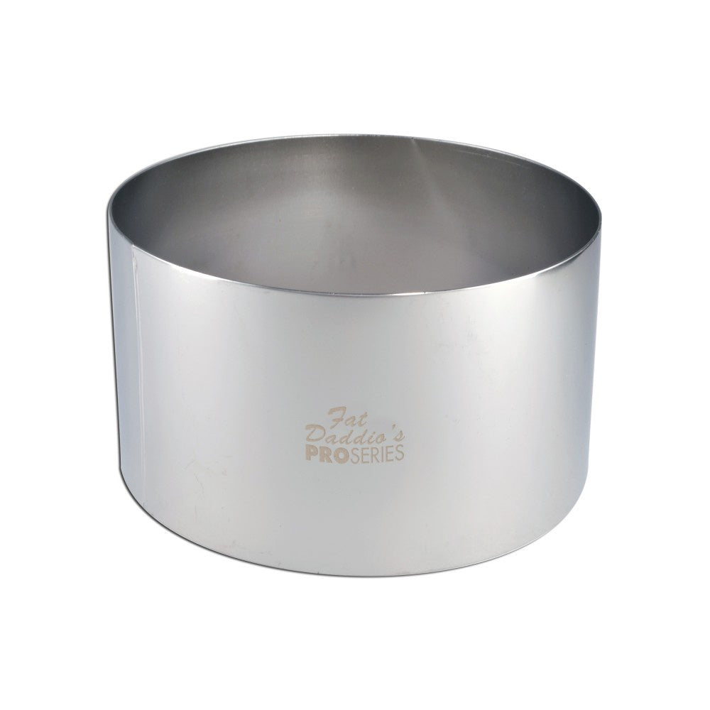 Fat Daddio's Stainless Steel Cake Ring 6x3