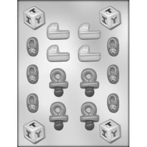 Small Baby Shower Assortment Chocolate Mold