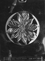 Large Poinsettia Circle Chocolate Mold