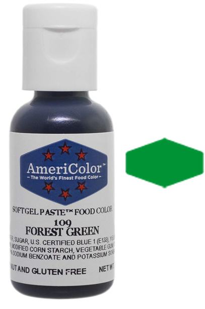 Americolor Soft Gel Paste Food Color - Forest Green