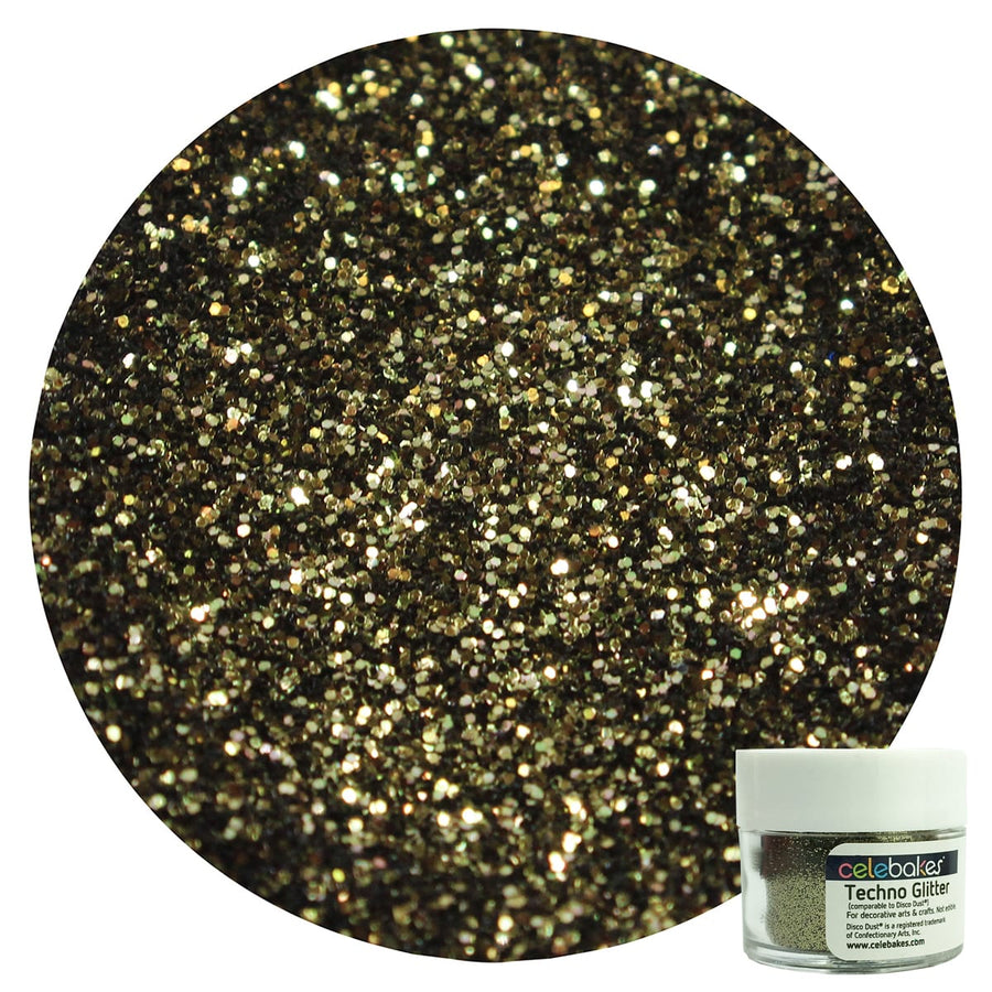 Celebakes Techno Glitter - Antique Gold