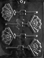fans lolly Chocolate Mold