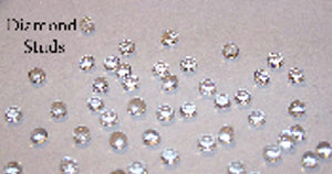 Sugar Diamonds 4mm - 65 pieces