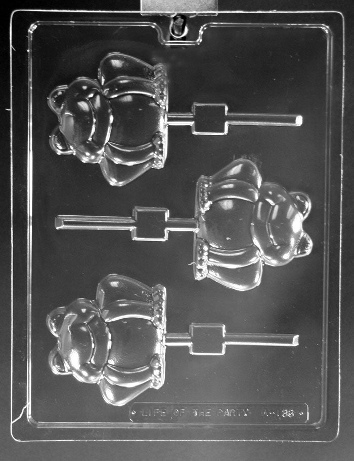 Large Frogs Lollipop Chocolate Mold