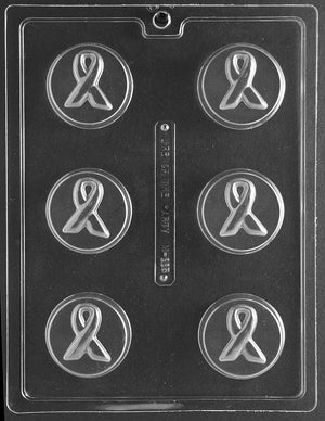 Awareness Ribbon Chocolate Cookie Mold