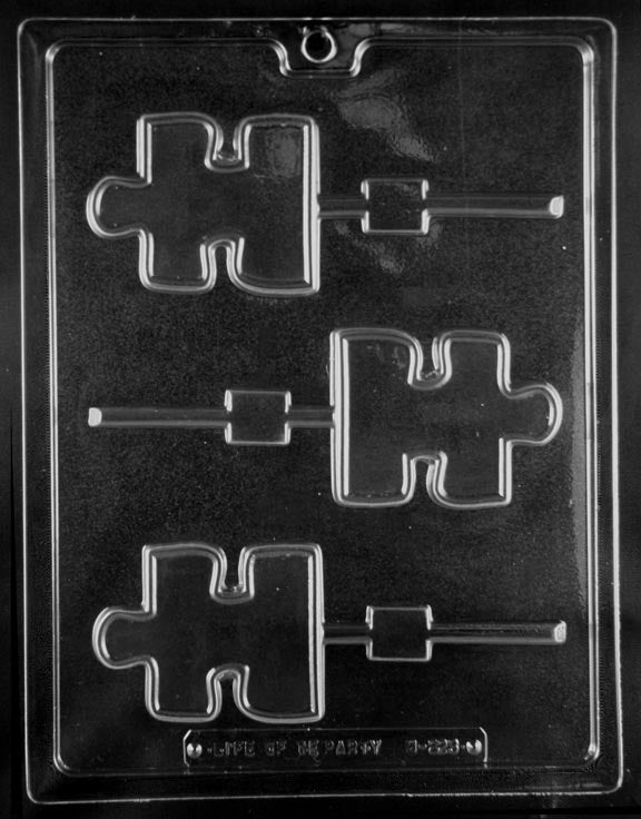Puzzle Piece Lollipop Mold
