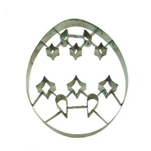Egg Cut Out Cookie Cutter 7.5""