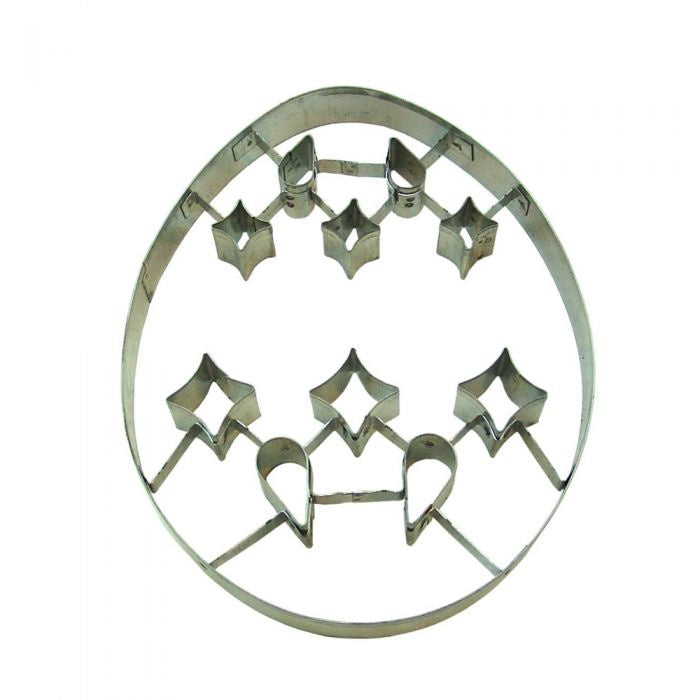Ornament Cut Out Cookie Cutter 7.5""