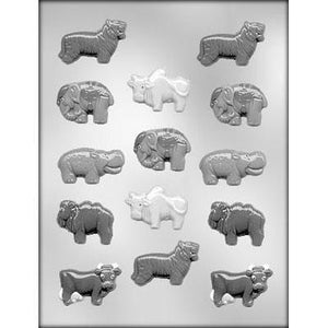 Animal Assortment Chocolate Mold