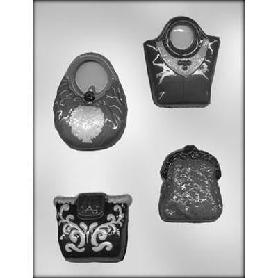 Assortment Of Purses Chocolate Mold