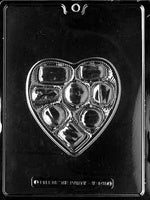 Candy Heart Chocolate Box Mold