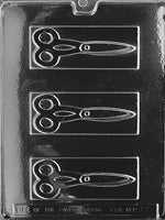 Scissors Chocolate Mold