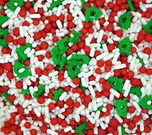Festive Flurry Quins & Jimmies Mix