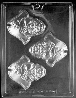 Pirate Skull Chocolate Mold