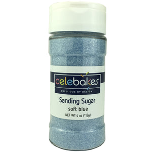 Celebakes Soft Blue Sanding Sugar