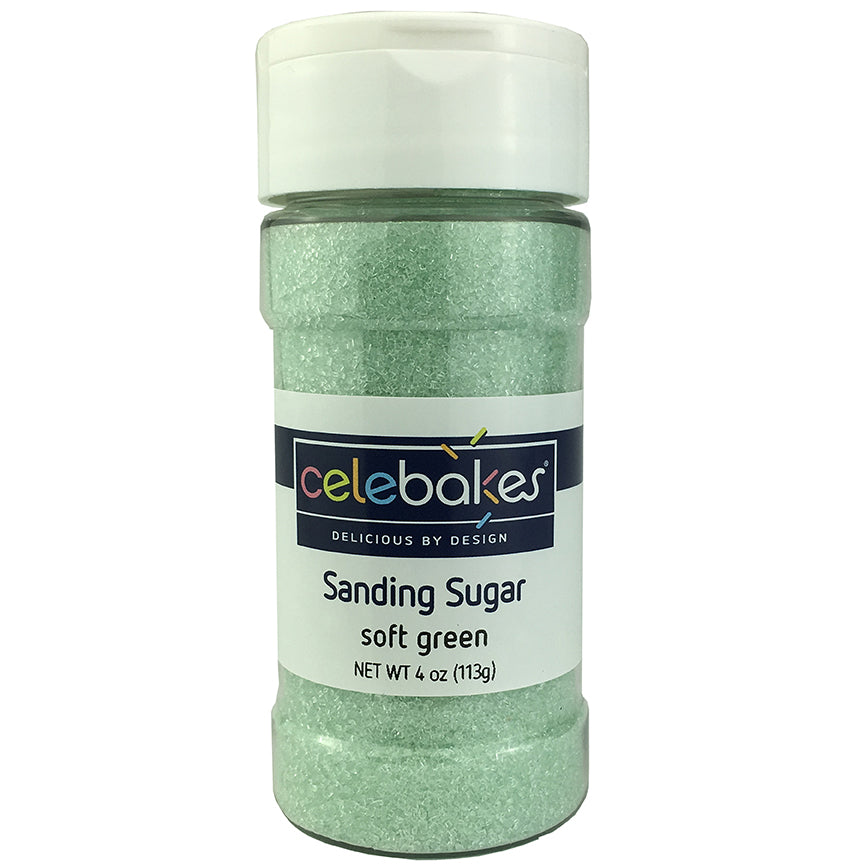 Celebakes Soft Green Sanding Sugar