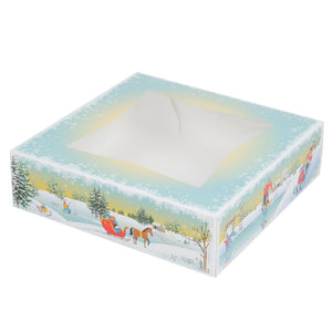 Winter Wonderland Pie Box - 10x10x2.5