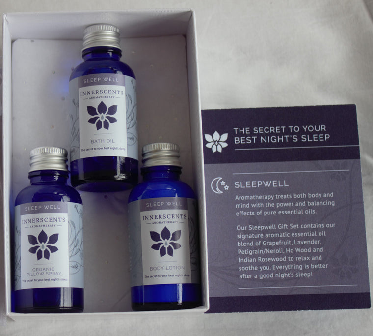 Sleep Well Luxury Aromatherapy Gift Set