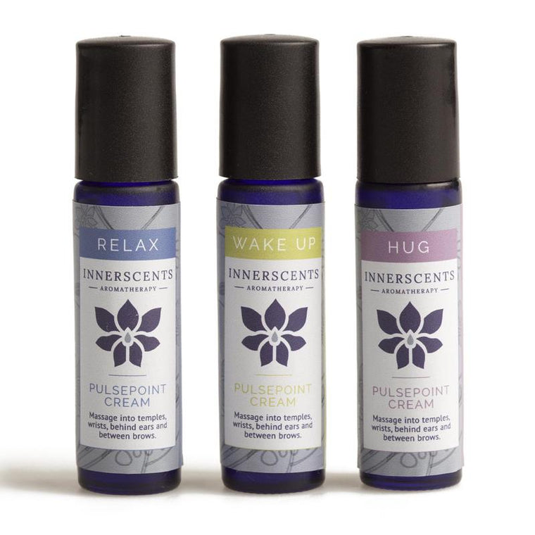 Gift box of 3 aromatherapy pulsepoint creams