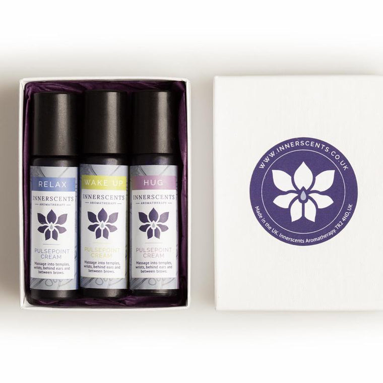 Essential Pulsepoint Creams Kit - Innerscents Aromatherapy