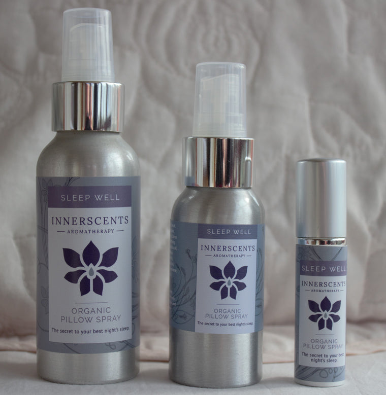 Sleep Well Aromatherapy Pillow Spray - NEW 50ML SIZE -
