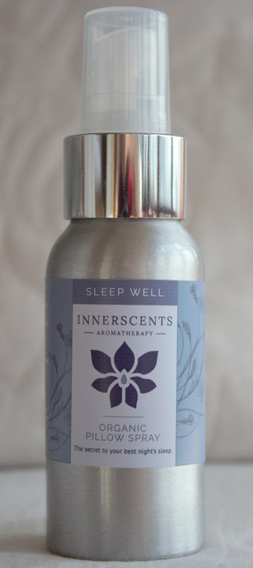 Sleep Well Aromatherapy Pillow Spray - NEW 50ML SIZE - - Innerscents Aromatherapy