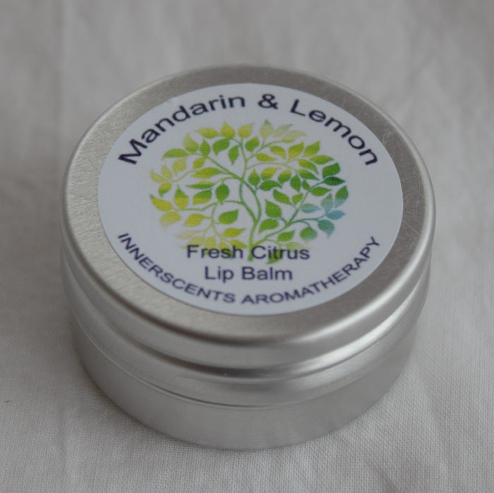 Fresh Citrus Lip Balm Luxury Aromatherapy - Innerscents Aromatherapy