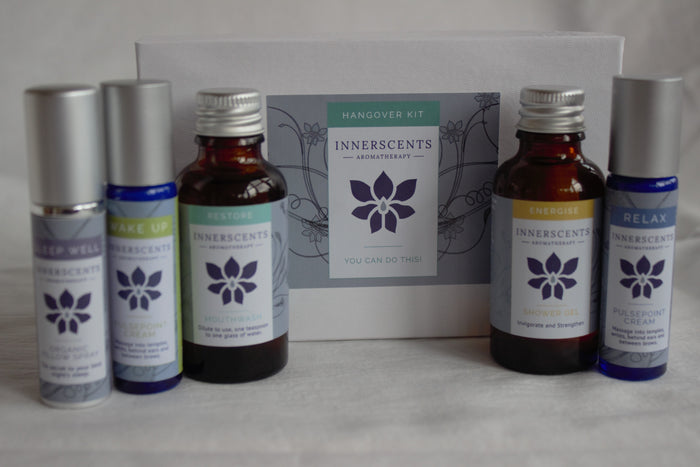 Hangover Kit with Pure Essential Oils - Innerscents Aromatherapy