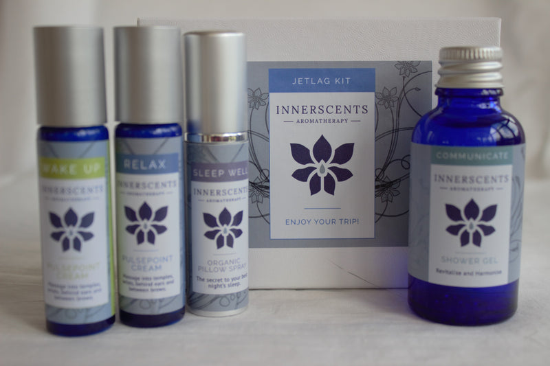 Jetlag Kit with Pure Essential Oils - Innerscents Aromatherapy