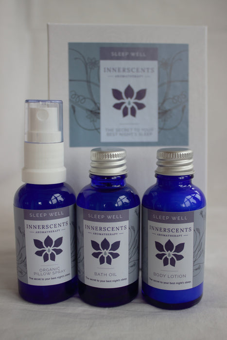 Sleep Well Luxury Aromatherapy Gift Set - Innerscents Aromatherapy