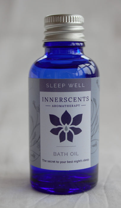 Sleep Well Aromatherapy Bath Oil 30ml - Innerscents Aromatherapy