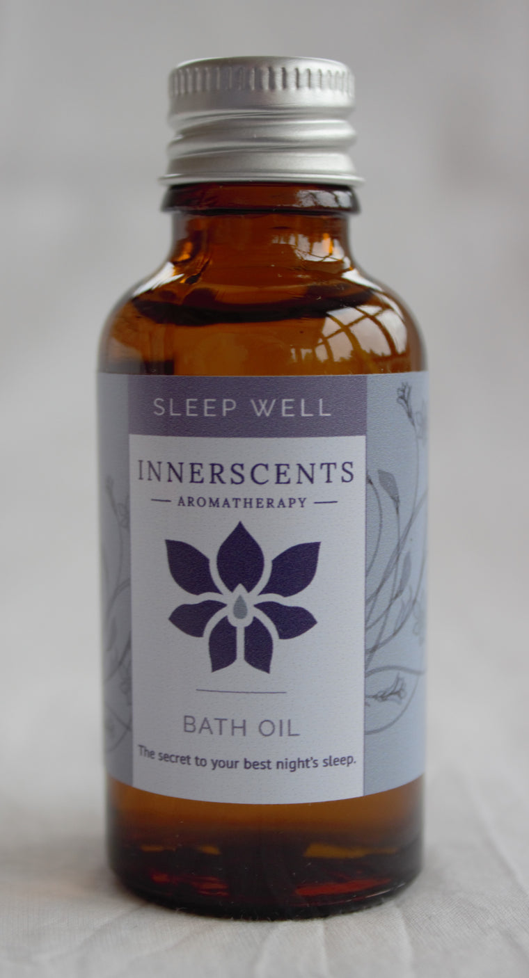 Sleep Well Aromatherapy Bath Oil 30ml