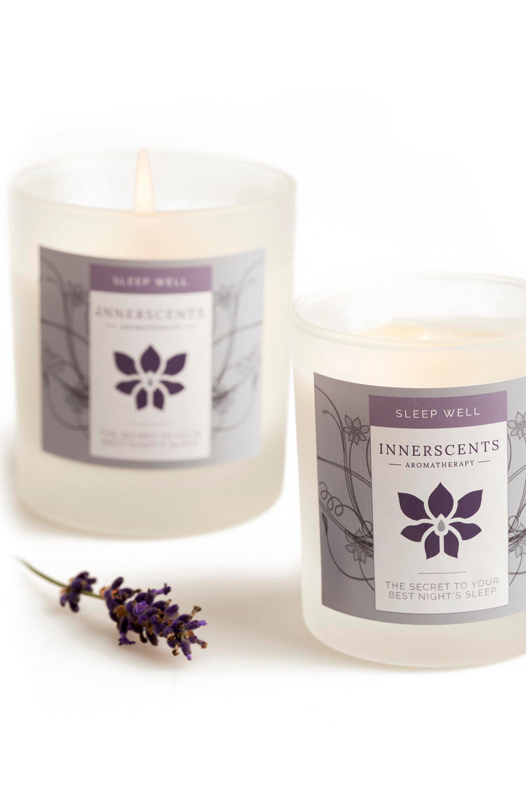 Sleep Well Aromatherapy Candle - Small (9cl) - Innerscents Aromatherapy