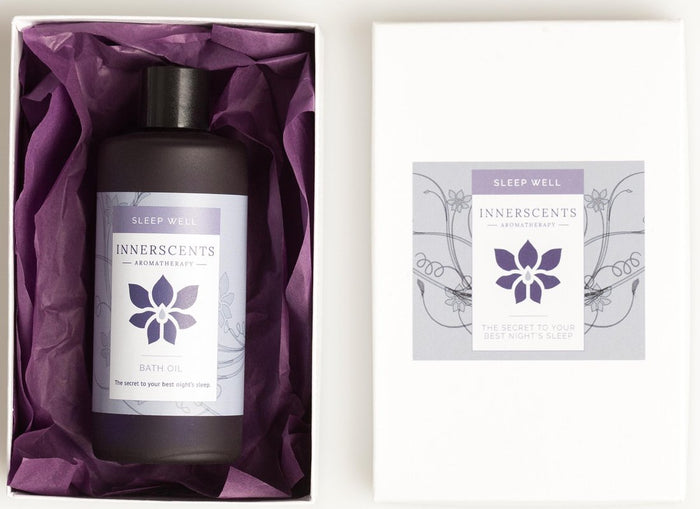 Sleep Well Aromatherapy Massage Oil 100ml - Innerscents Aromatherapy