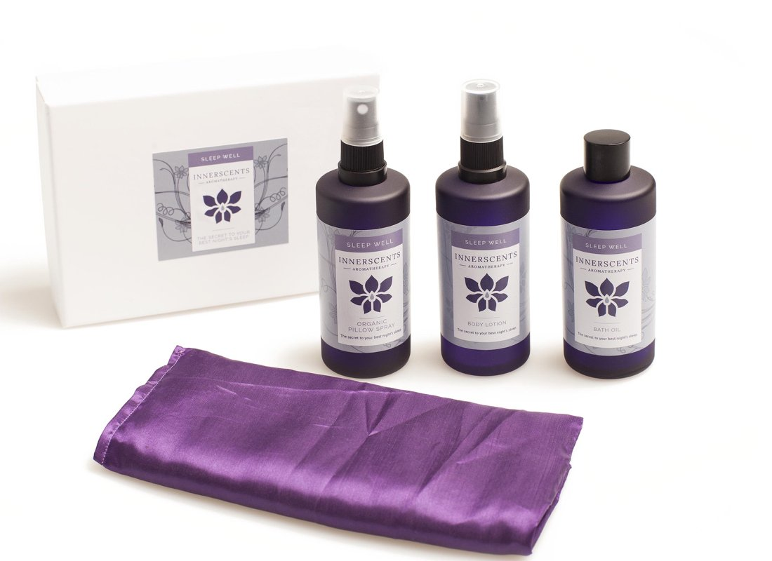 Ultimate Sleep Well Gift Set with Pure Essential Oils - Innerscents Aromatherapy