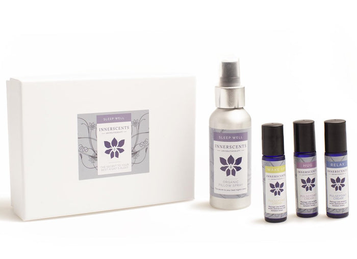 Sleep Well Everyday Kit with Pure Essential Oils - Innerscents Aromatherapy