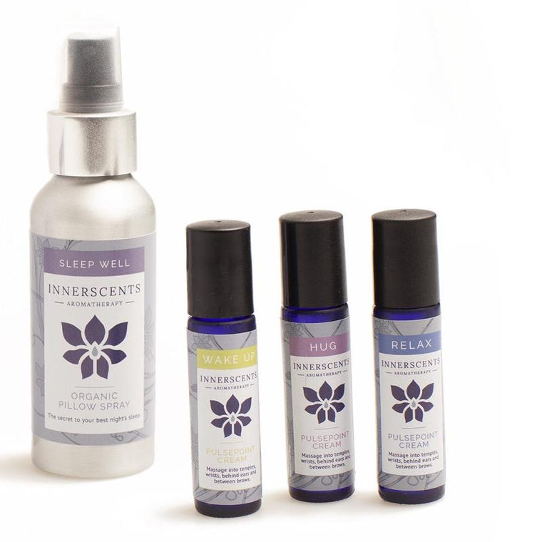 Sleep Well Everyday Kit with Pure Essential Oils