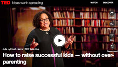 TED Talk How to raise successful kids without overparenting.