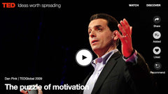 Puzzle of Motivation. TED Talk