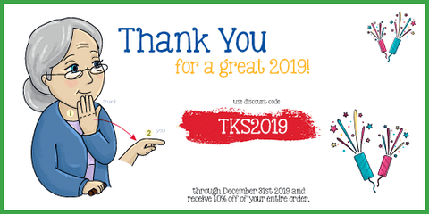 10% discount on any and all Emma and Egor sign language books, tools and resources. Use code TKS2019 at checkout.